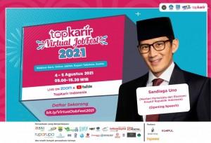 TopKarir Virtual Jobfest 2021 Dibuka Dengan Konsep 3G oleh Menparekraf Republik Indonesia   TopKarir.com