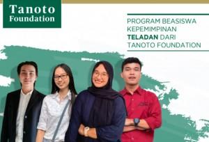 PROGRAM BEASISWA KEPEMIMPINAN TELADAN DARI TANOTO FOUNDATION | TopKarir.com